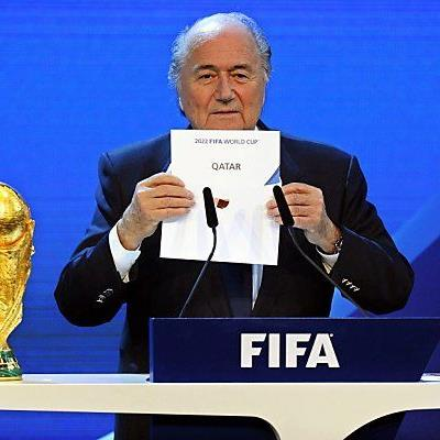 Der FIFA-Chef bei der WM-Vergabe in Zürich