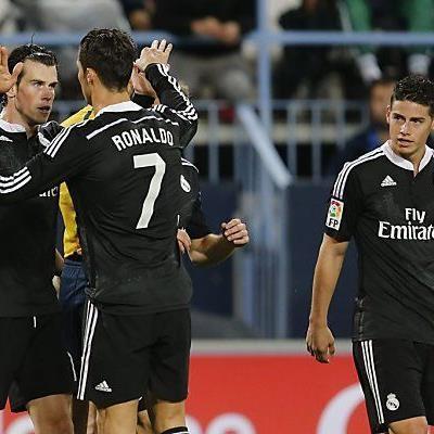 Bale bedankt sich bei Ronaldo für die Vorarbeit