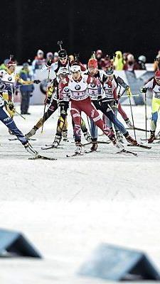 Spannendes Rennen in Östersund
