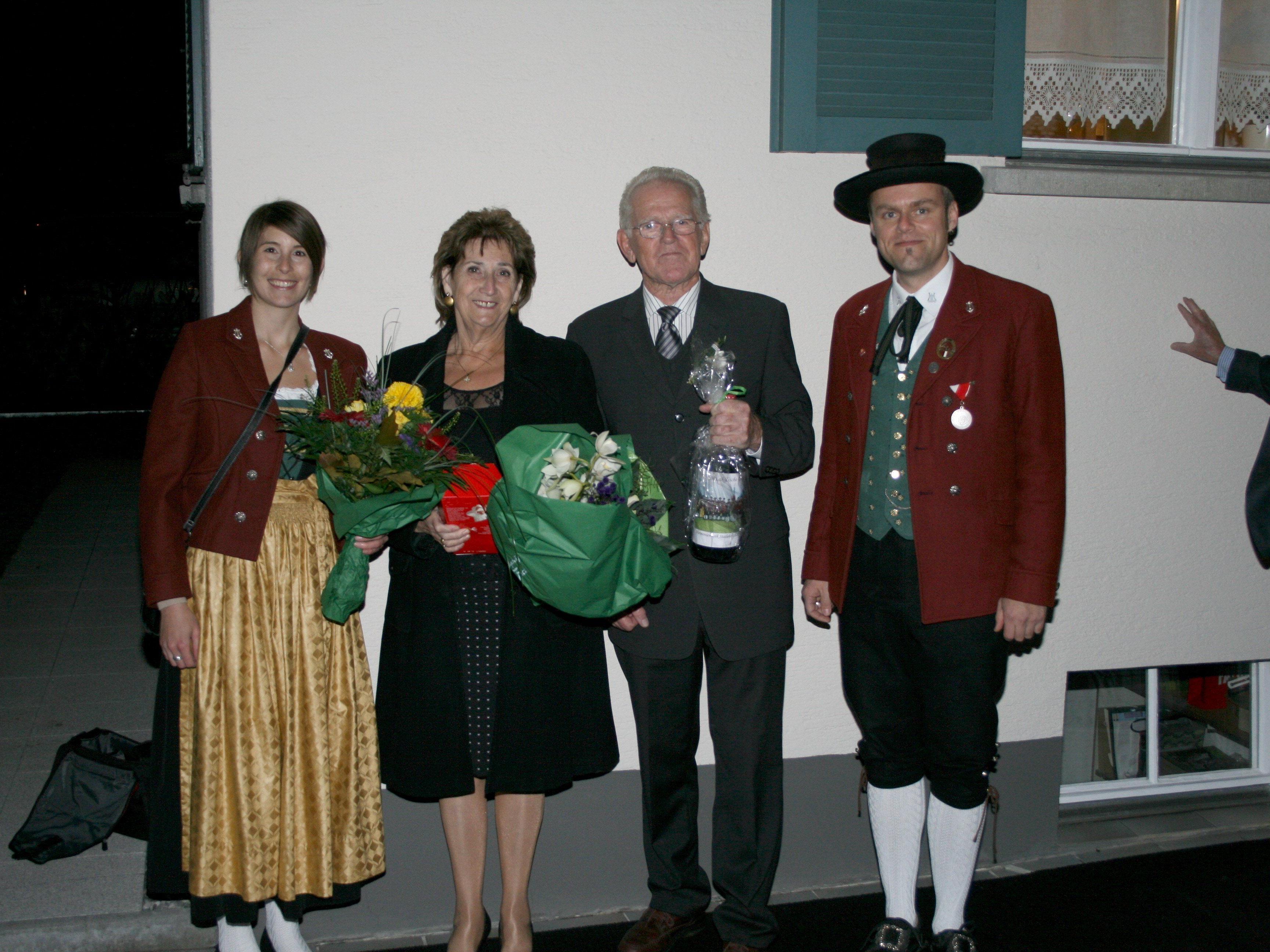 Goldene Hochzeit Von Edeltraud Und Edmund Jenny Bludenz