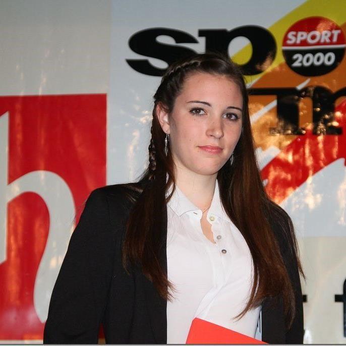 Die Hohenemserin Melanie Amann wurde zweimal Dritte und holte zwei Bronzene