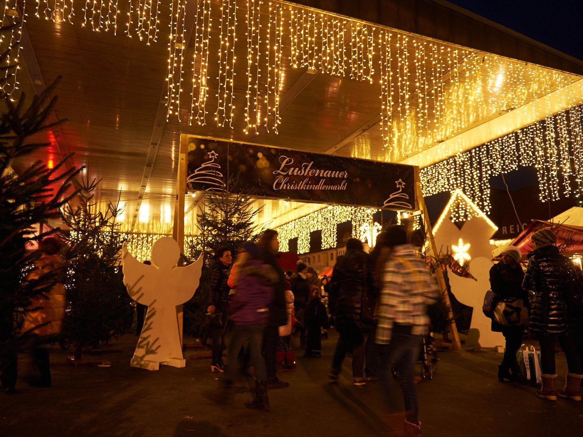 Vom 28. bis 30. November findet in Lustenau der Christkindlmarkt mit Krippenausstellung statt.