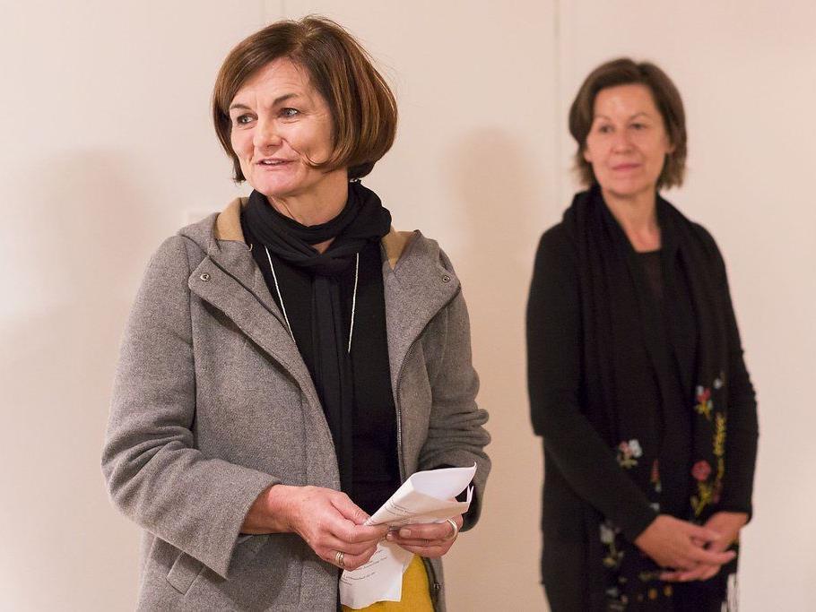 Petra Raid und Brunhilde Häußle