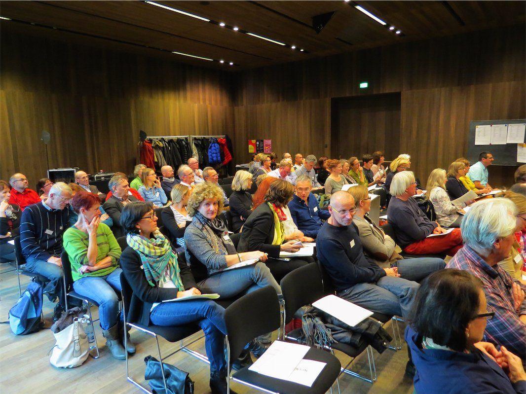 Gut besucht waren die Eröffnungsvorträge des 13. Zentralen Seminars im vorarlberg museum.