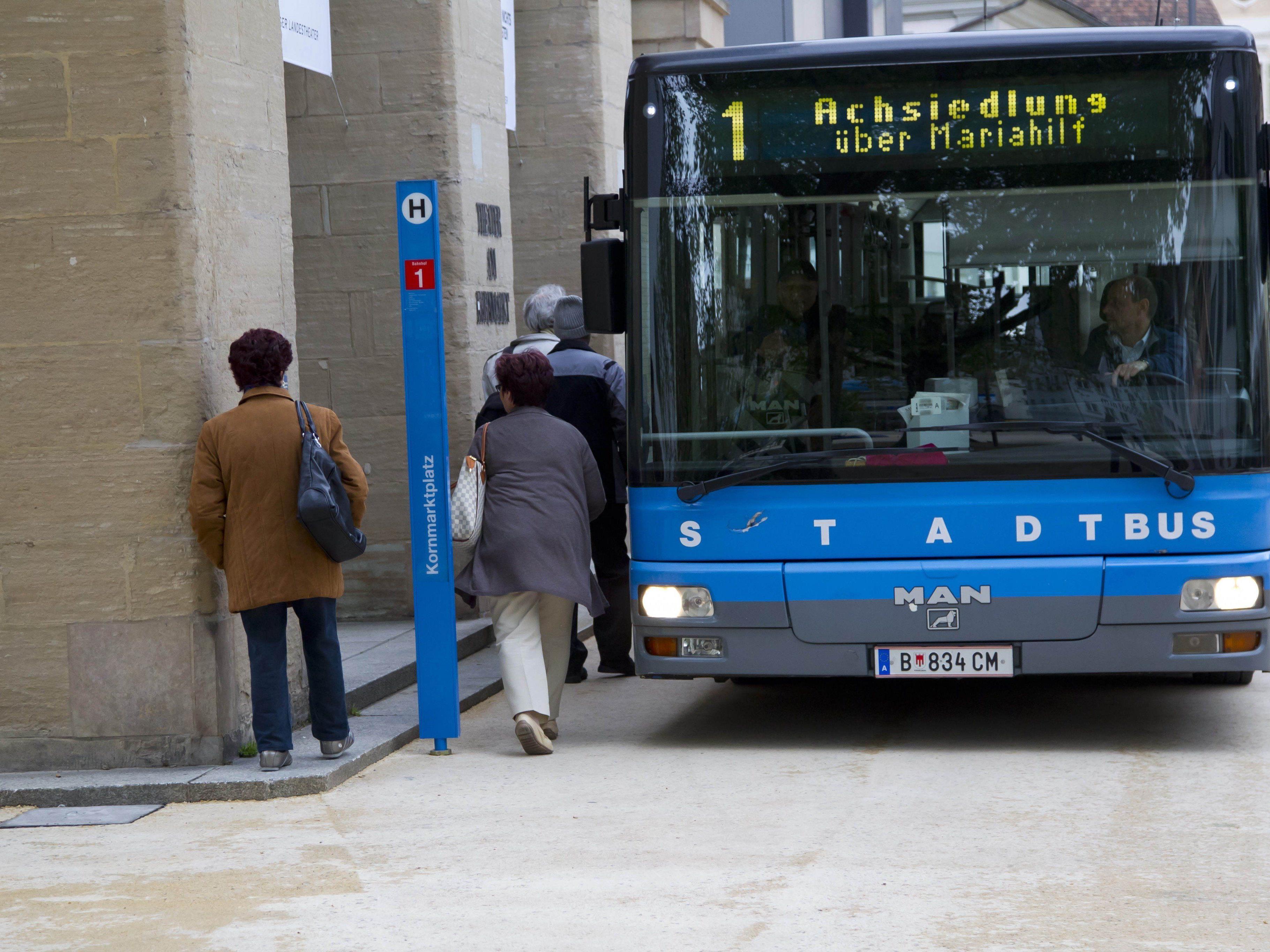 Ein unerwünschter Passagier hatte es auch auf die Kasse in einem der Bregenzer Stadtbusse abgesehen. (Symbolbild)