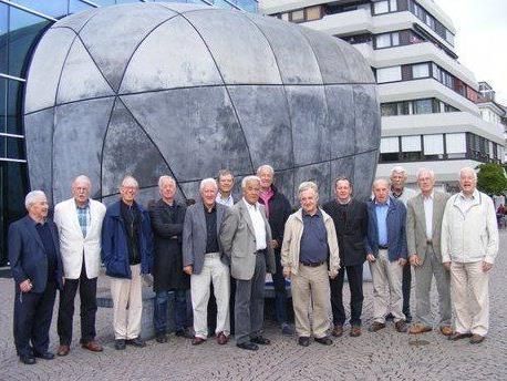 Von Bregenz aus ging es per Schiff nach Friedrichshafen ins Zeppelinmuseum zur Führung.