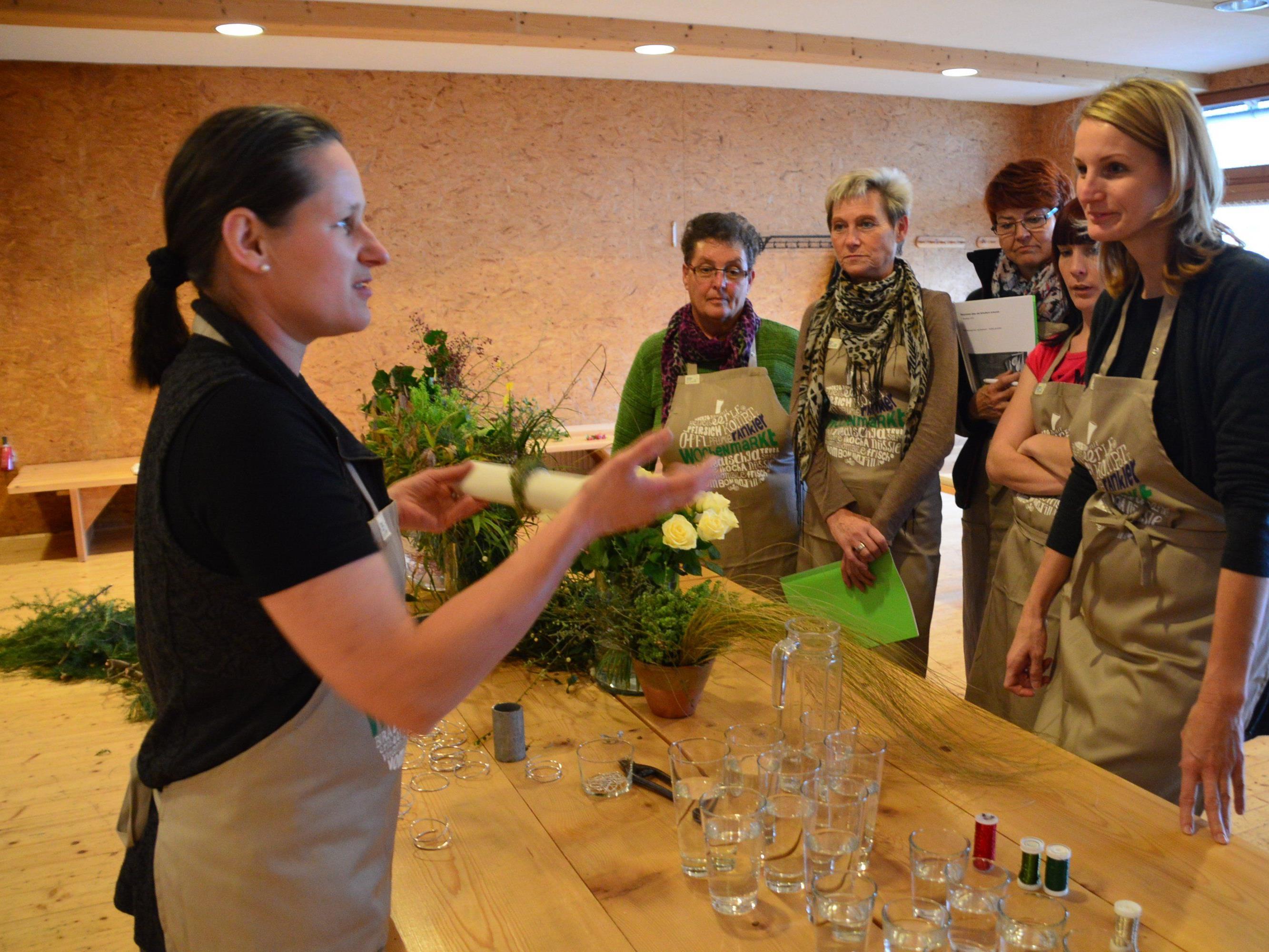 Rankweiler Bäuerinnen zeigten wie man einfache und schmackhafte Gerichte kocht.