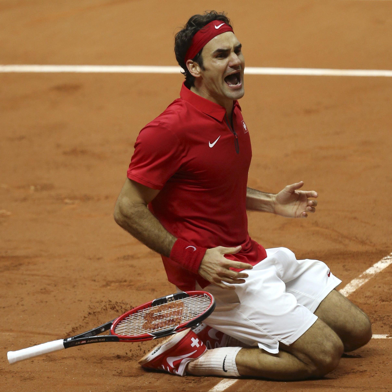 Für Roger Federer geht mit dem Sieg im Davis Cup ein Traum in Erfüllung.