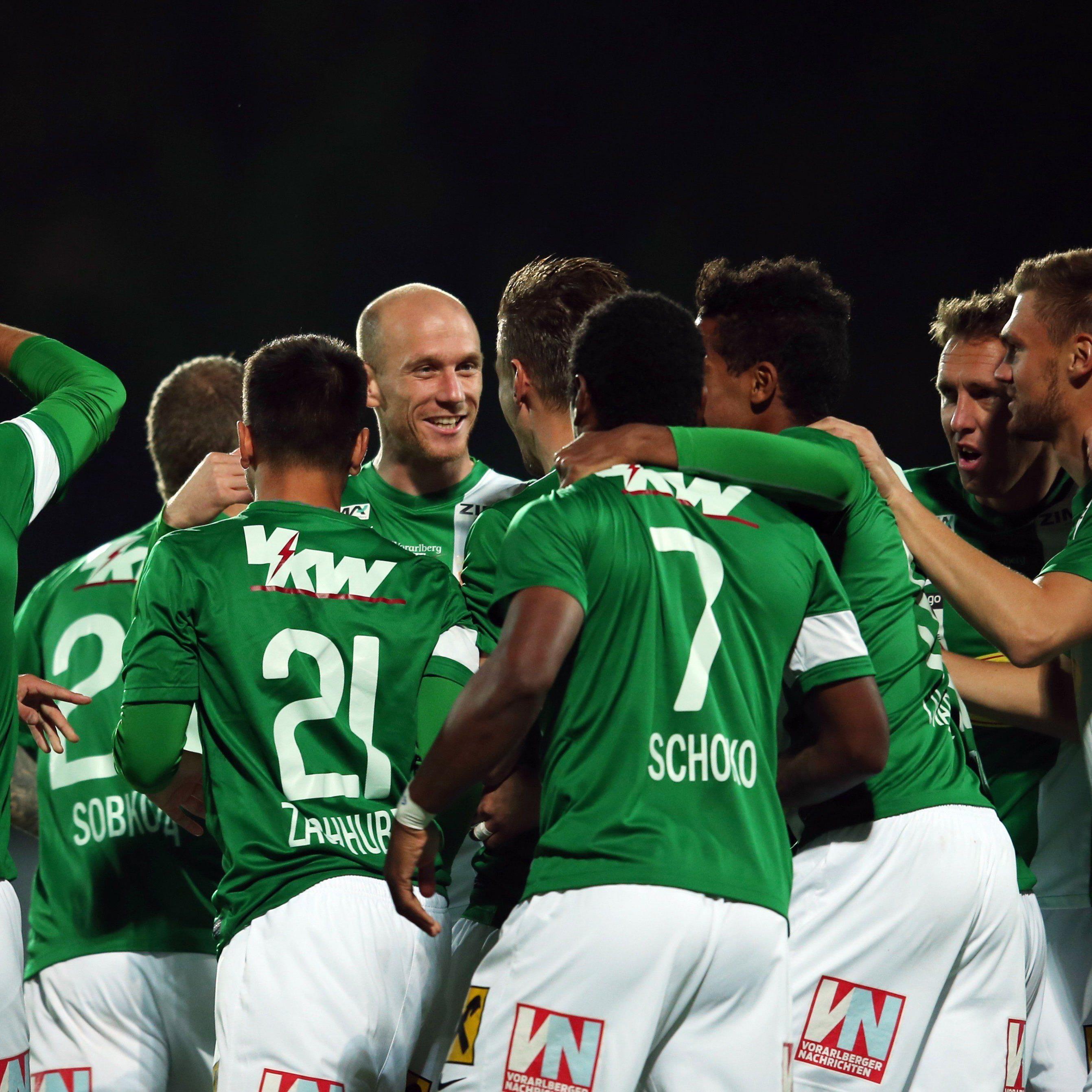 Die Austria durfte im letzten Spiel vor der Winterpause nochmal über drei Punkte jubeln.