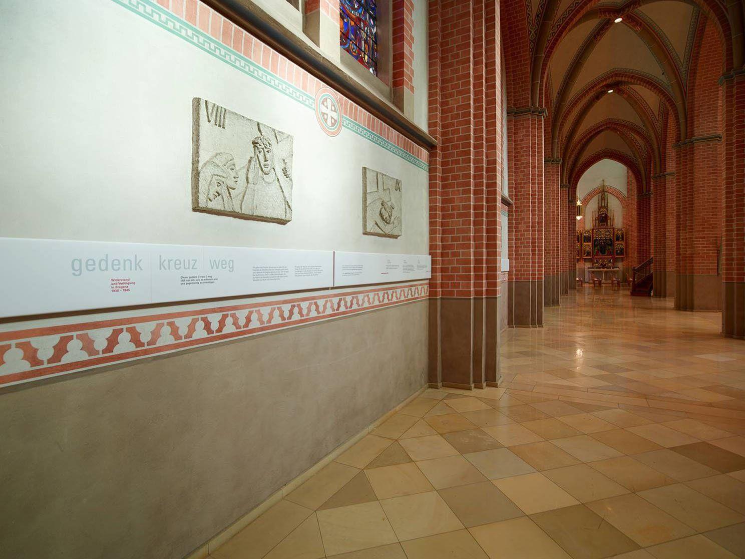 Der Gedenk-Kreuzweg wird kommenden Samstag mit einer Gedenkmesse eingeweiht.