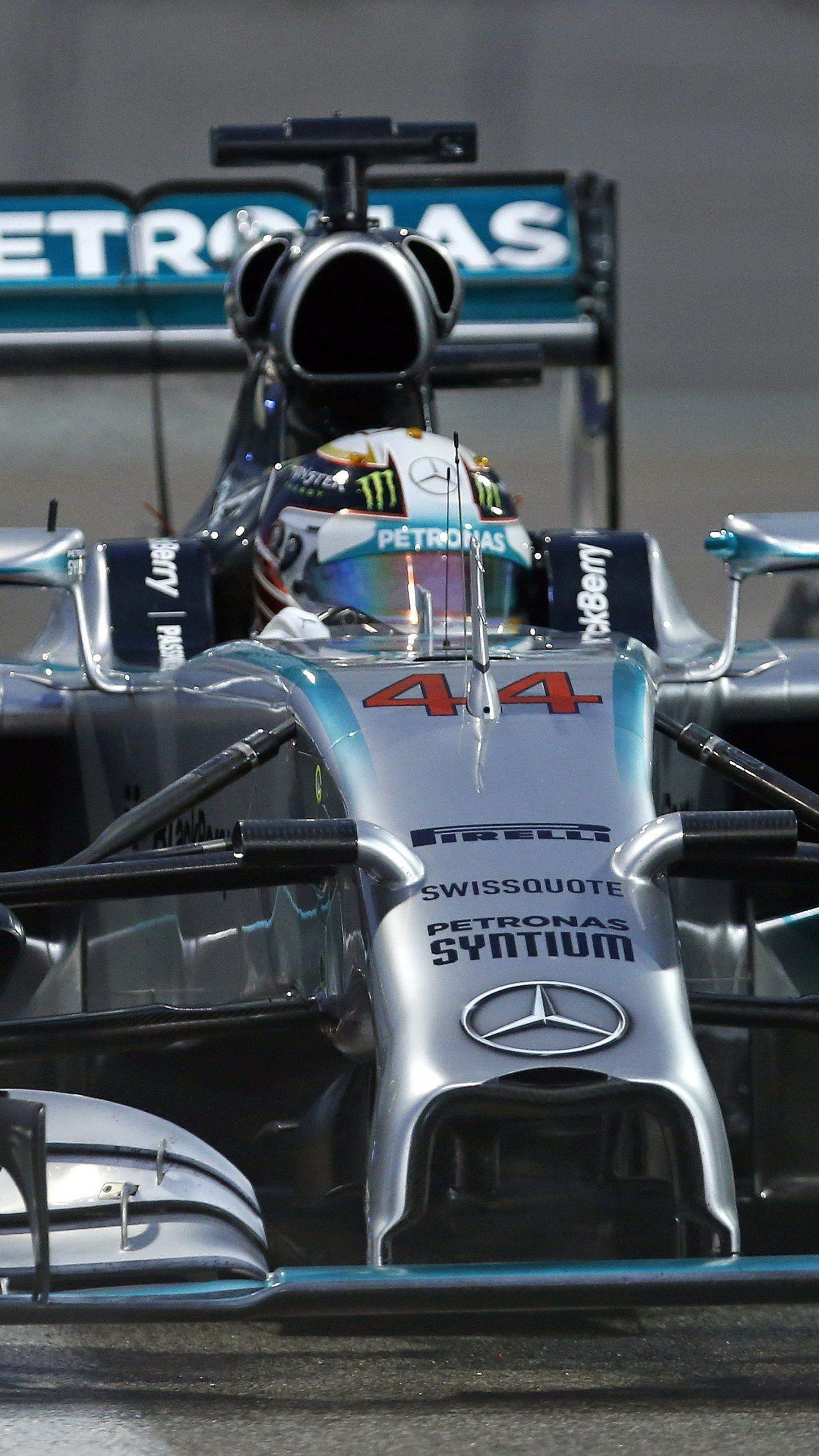 Lewis Hamilton sichert sich mit einem Sieg in Abu-Dhabi seinen zweiten WM-Titel nach 2008.