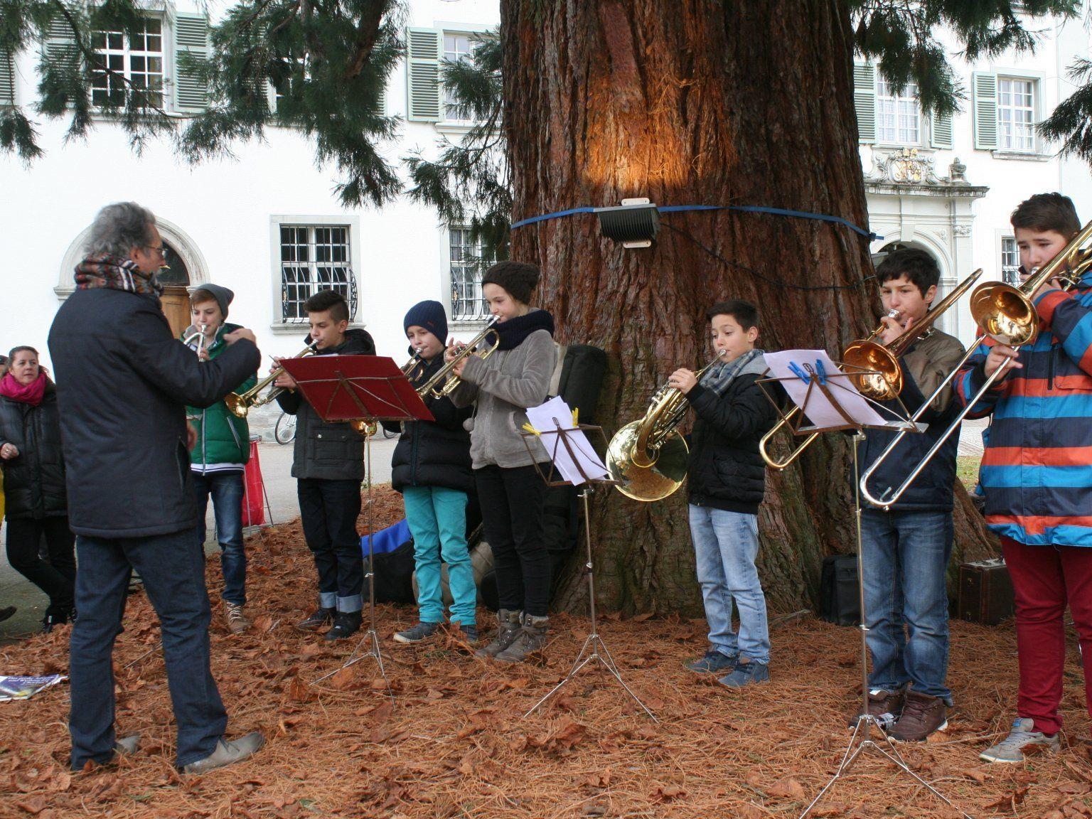 Für beste musikalische Unterhaltung sorgte u. a. der Bläserensemble der MS Bregenz-Stadt