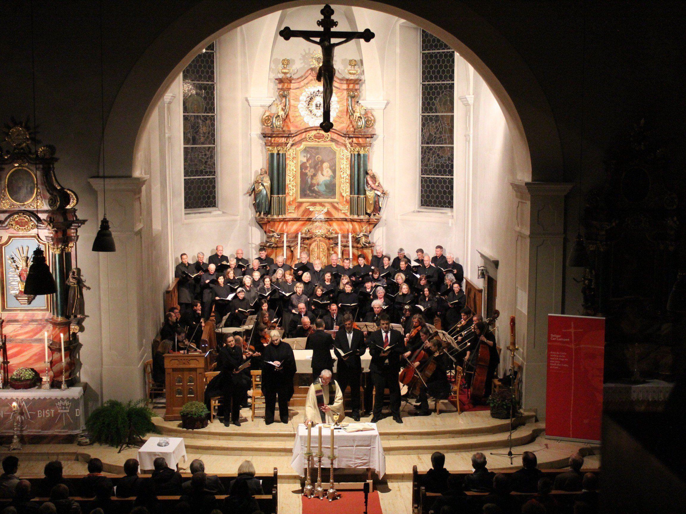 Imposantes Mozart-Requiem in der Wallfahrtskirche.