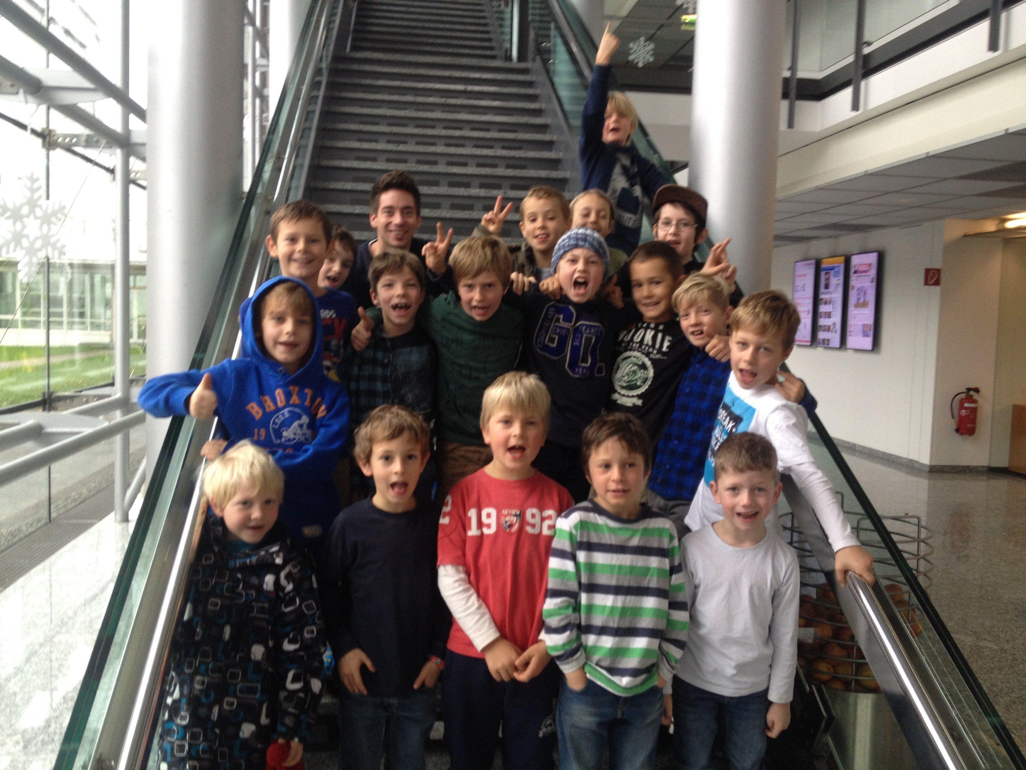VS Marienberg Bregenz (1- bis 3. Klasse jahrgangsgemischt) mit 38 Schülern + 4 Begleitpersonen