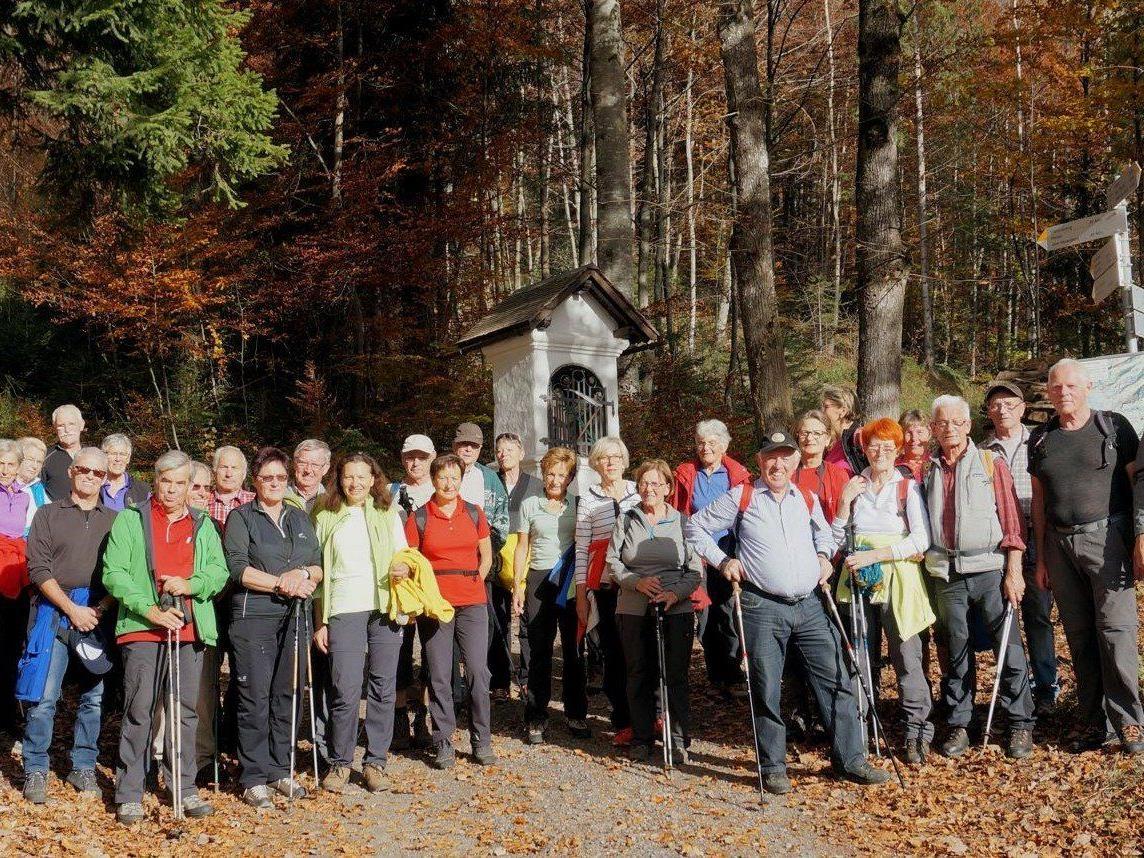 """Die letzte """"offizielle"""" Wanderung im heurigen Jahr führte uns hinein ins Frödischtal."""