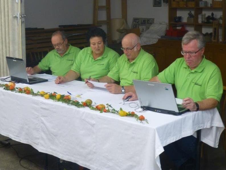 Der Vorstand des OGV Lustenau