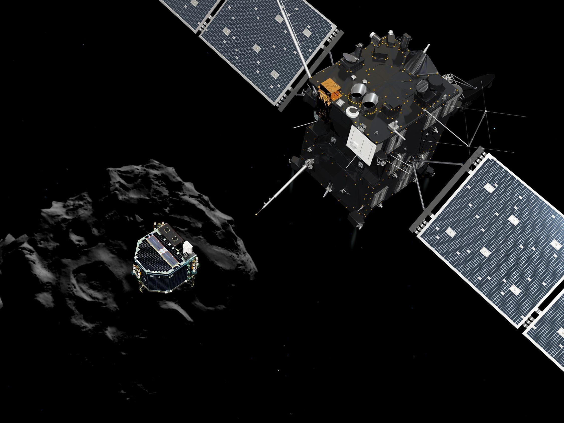 """ESA-Direktor bezeichnet Chancen für einen Erfolg mit """"fifty-fifty""""."""