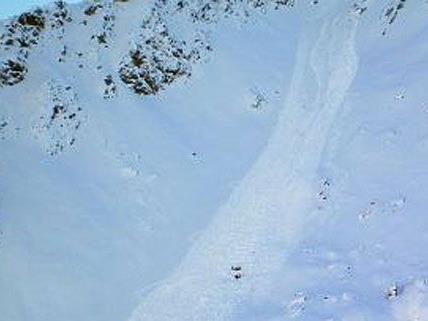 Die Wiener hatten sich im Schnee am Berg in Salzburg verirrt
