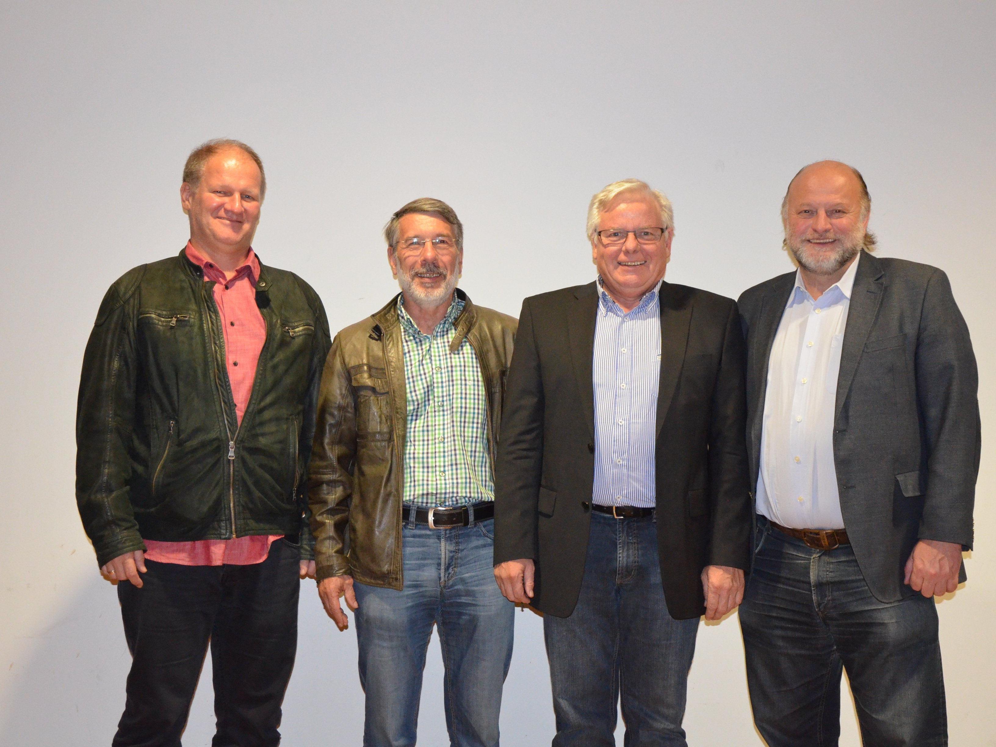 Der neue Vorstand des Vorarlberger Handballverband.