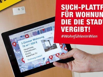 Eine gemeinsame Online-Plattform soll die Wohnungssuche in Wien erleichtern.