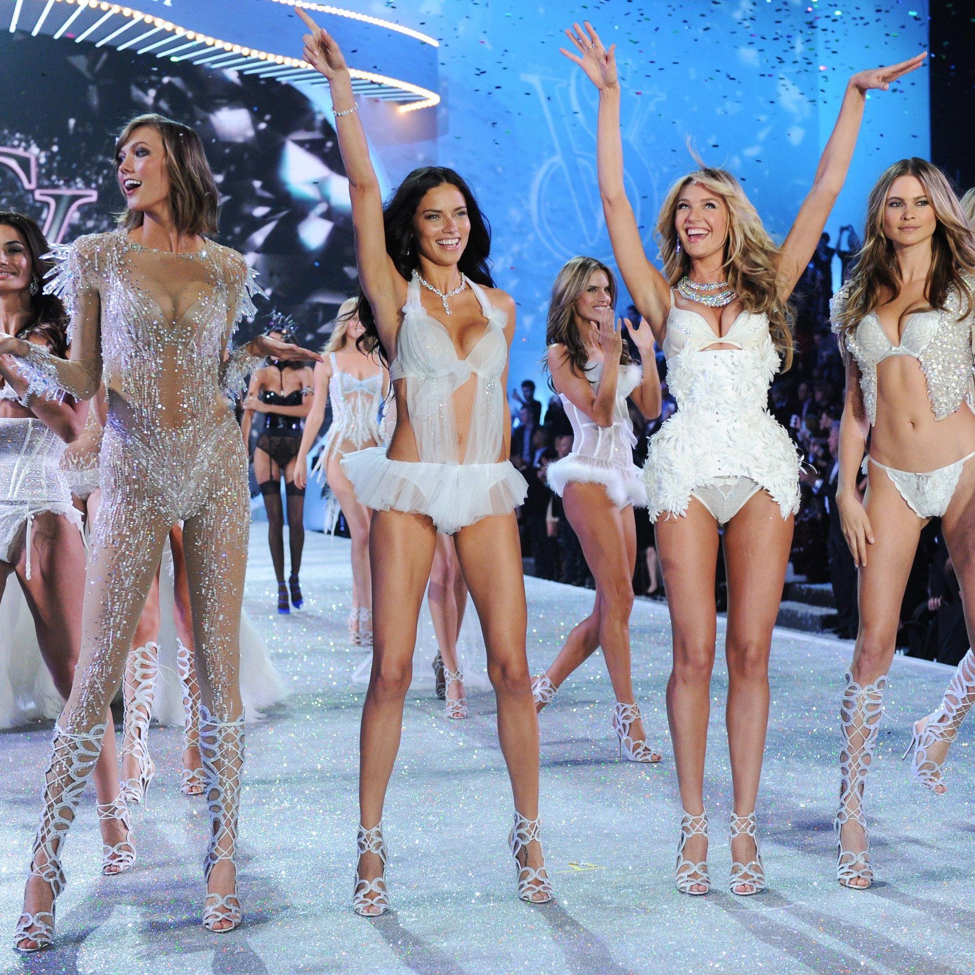 """Verangenes Jahr überzeugten die Models als """"Snow Angels""""."""