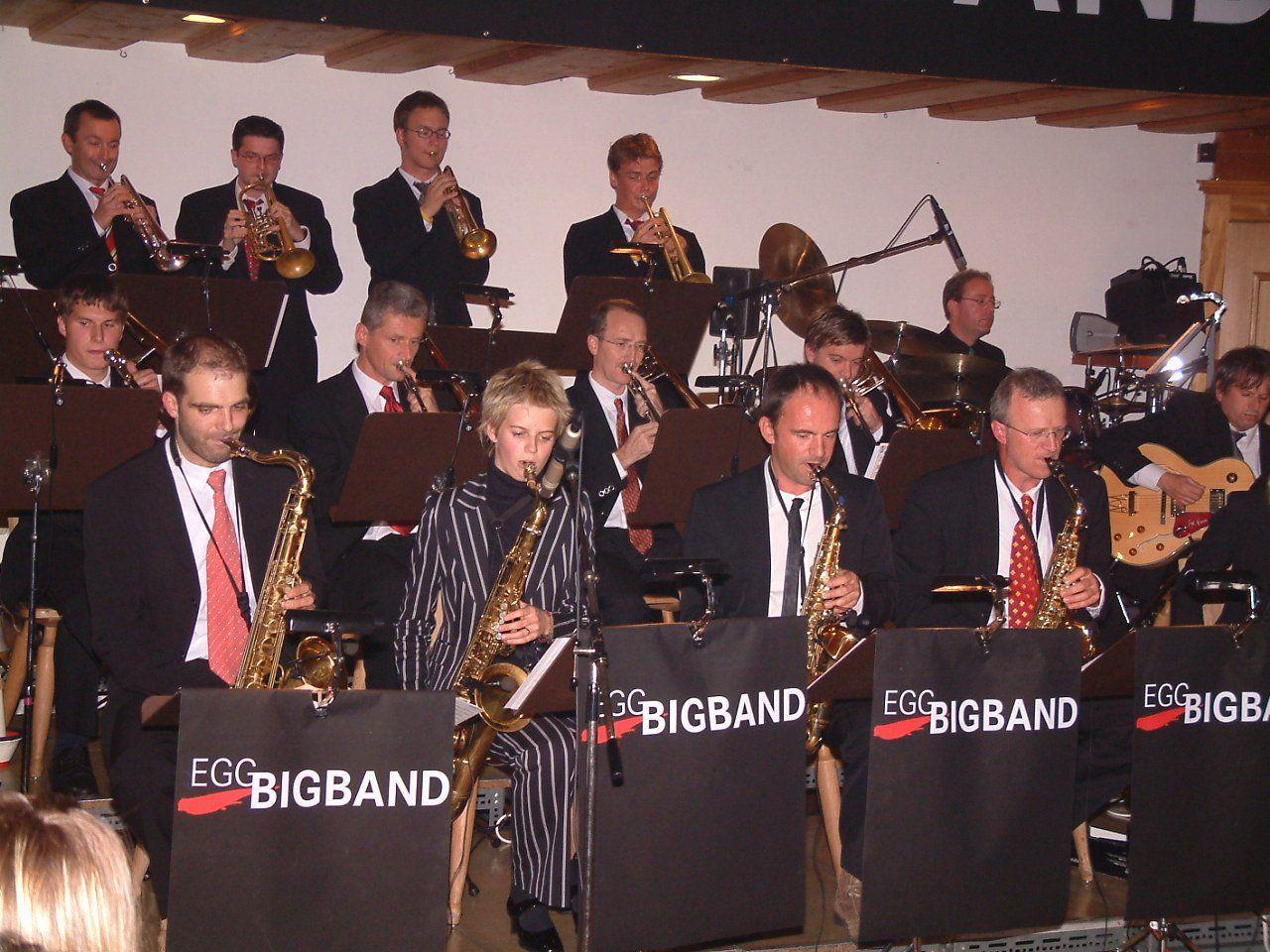 Zum Jubiläum werden die Musiker der Egg Big Band wieder ihre musikalische Qualität unter Beweis stellen.