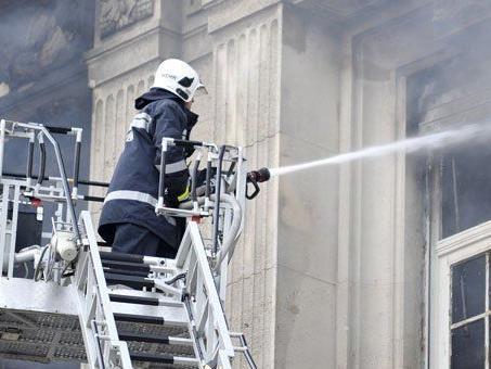 Bei dem Brand in dem Altersheim in Kritzendorf wurde niemand verletzt.