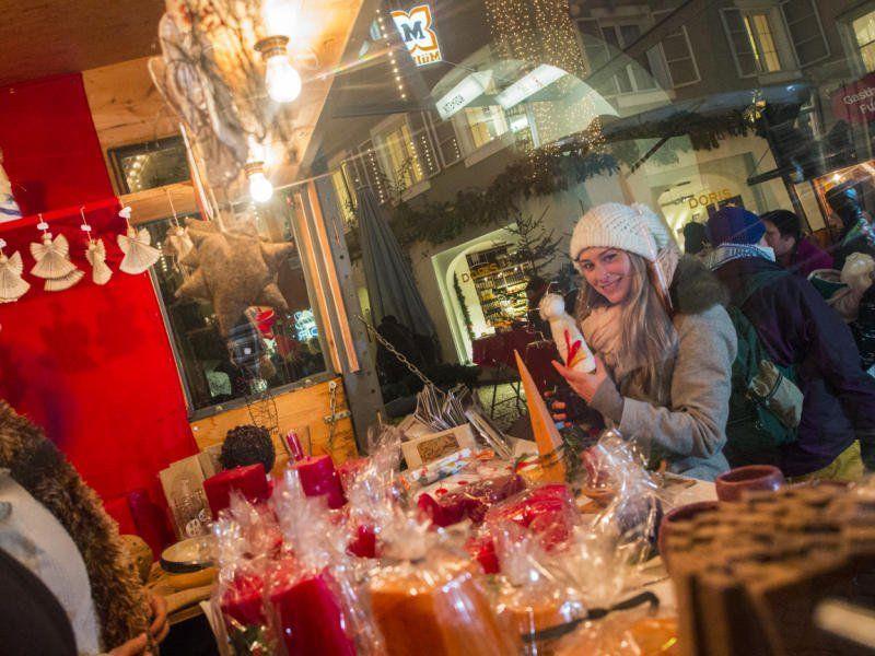 Eine lange Tradition hat der Bludenzer Christkindlemarkt in der Altstadt.