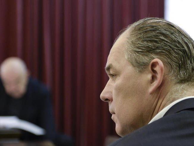 So long: Der Prozess um Hartmann geht in die Pause.