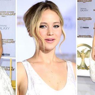 Jennifer Lawrence bei der Premiere in L.A.