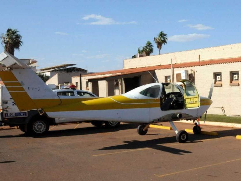 Pilot wegen Stippvisite von Polizei befragt.