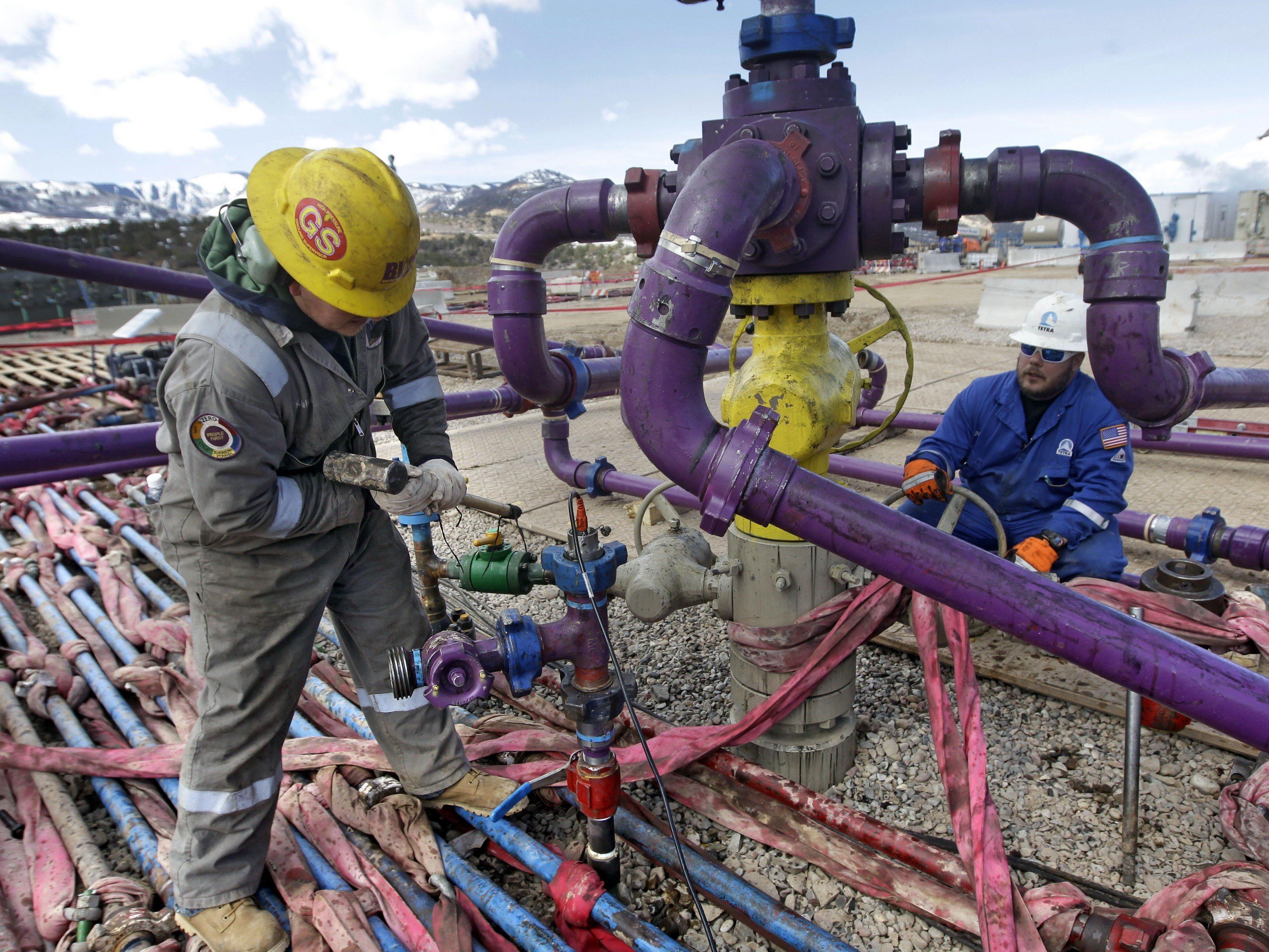 Fracking-Boom sorgt für sinkende Ölpreise.