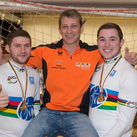 Markus Bröll und Patrick Schnetzer wurden zum zweiten Mal Weltmeister im Radball