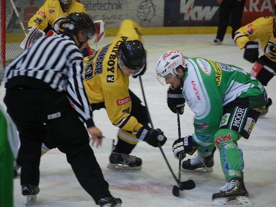 Kapitän Christian Ban erzielte gegen Jesenice zwei Treffer.