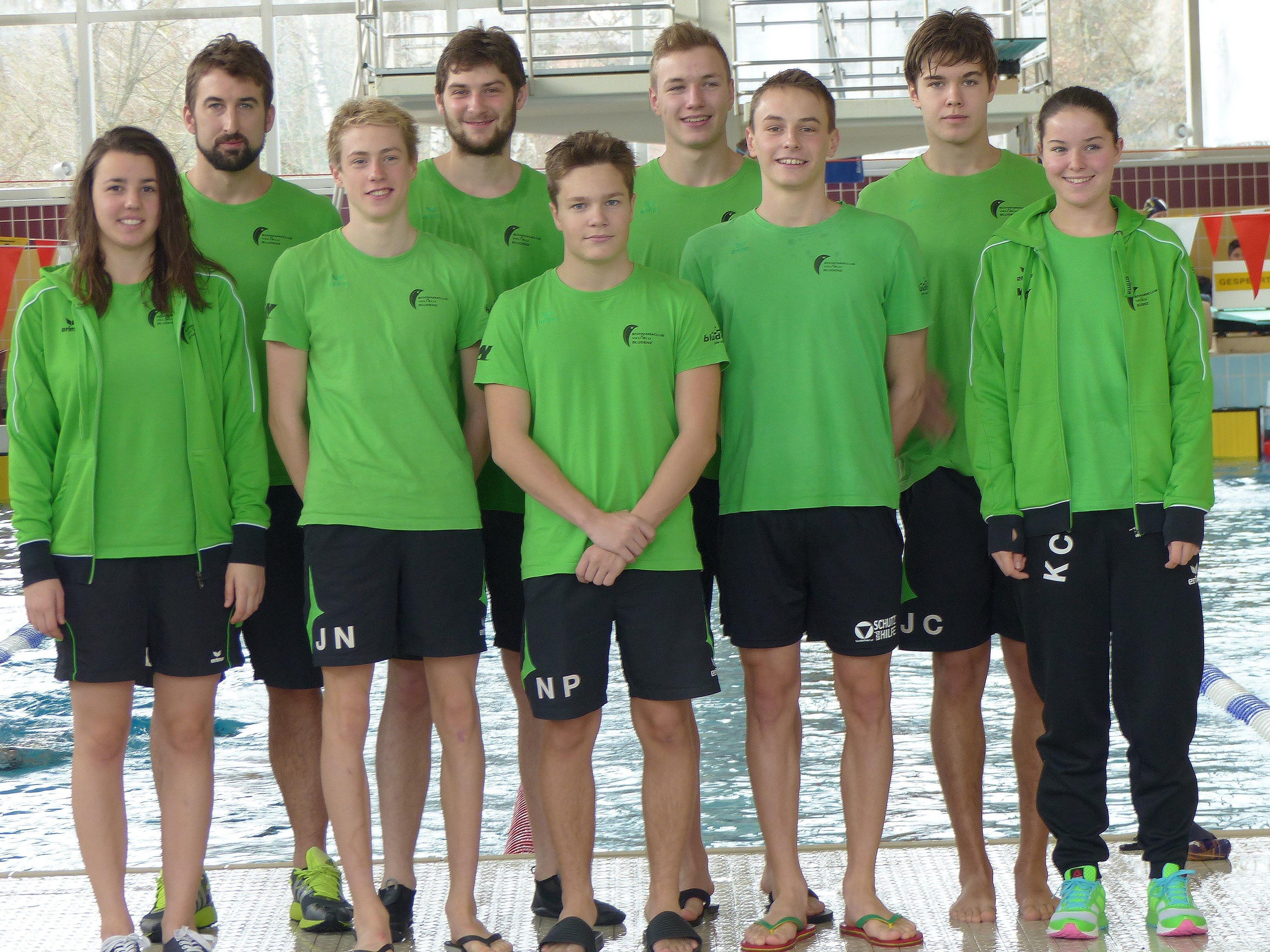 Wieder tolle Leistungen der Bludenzer Schwimmer.