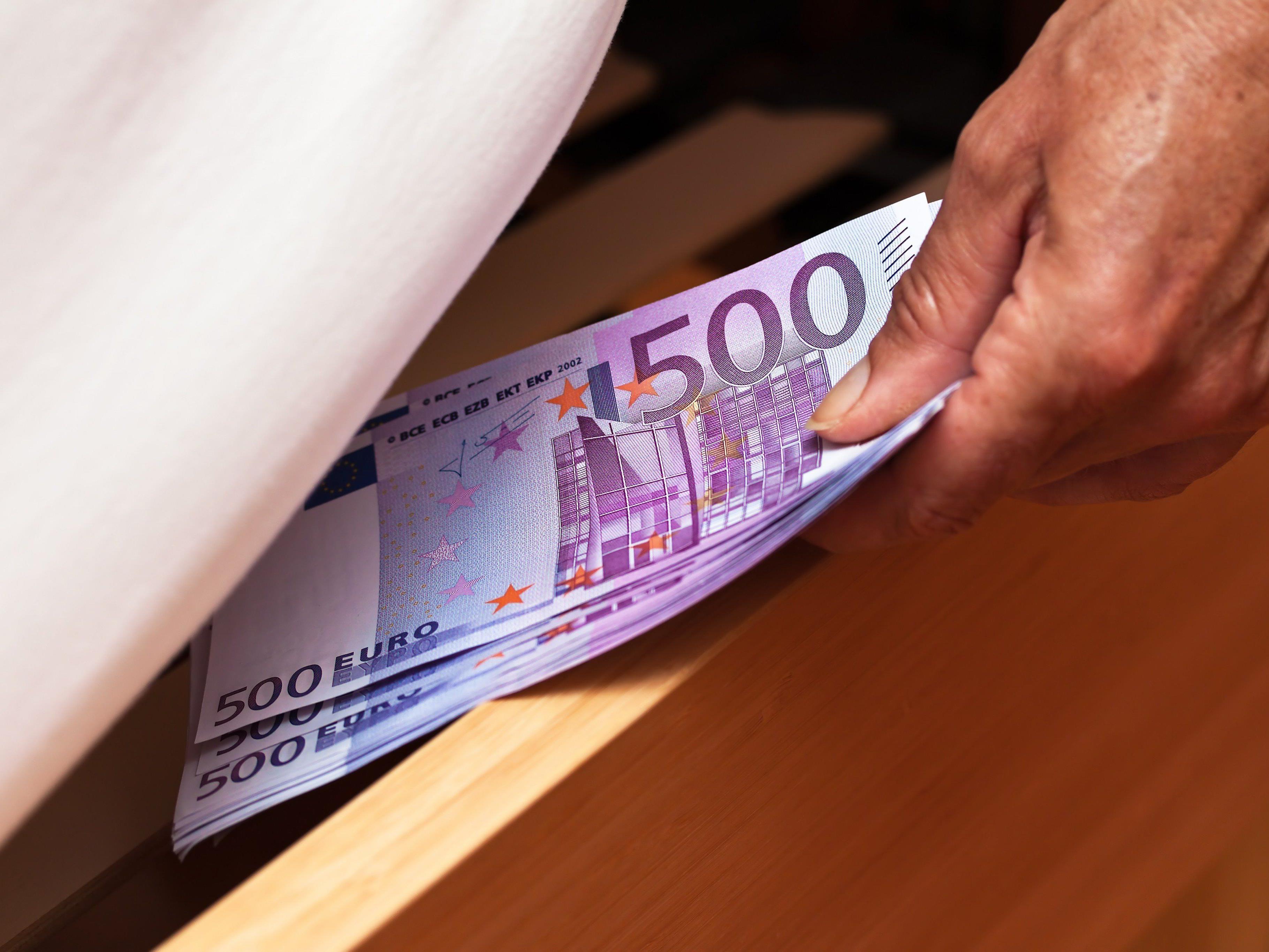 Der Linzer sprach von fehlenden 500€.