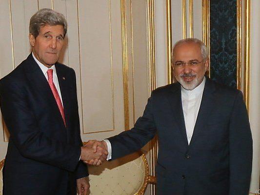 Zarif und Kerry verhandelten in Wien