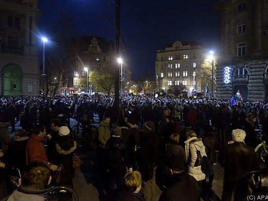 Ungarische Gesellschaft gespalten