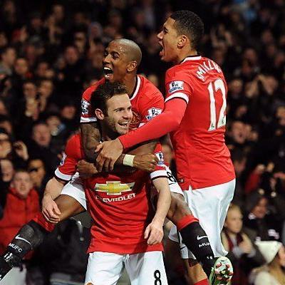 Juan Mata erzielte den Siegestreffer für ManUnited