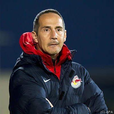 Salzburg-Trainer Hütter mit Personalsorgen