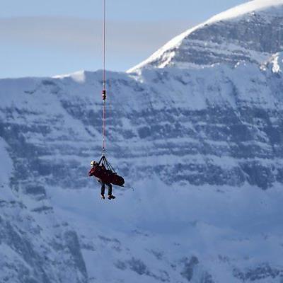 Siebenhofer nach Sturz mit Hubschrauber geborgen