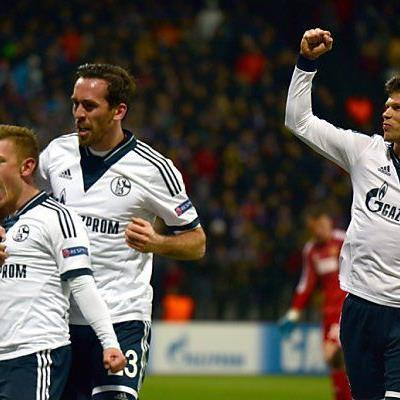 Auch Schalke schaffte es