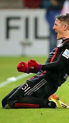 Bastian Schweinsteiger traf per Freistoß