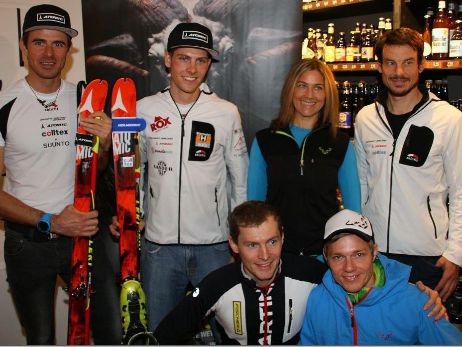 Die Vorarlberger Skibergsteiger-Athleten sind top und wollen heuer wieder viele Spitzenplatzierungen holen.