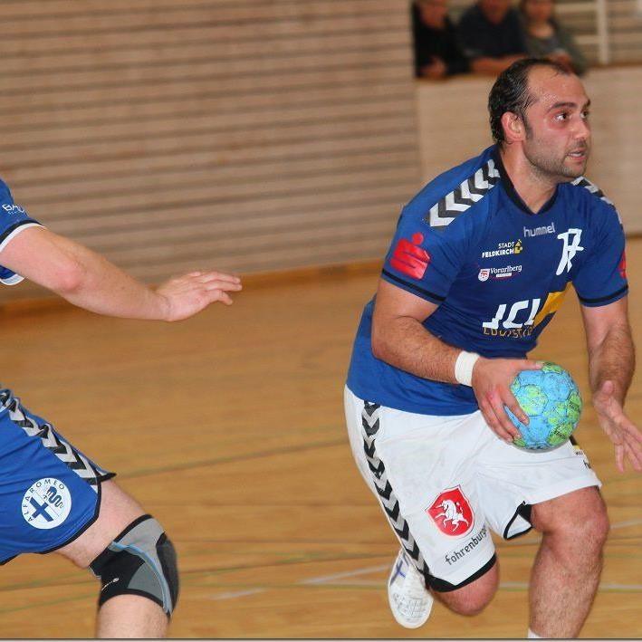 Feldkirch-Spieler Zoki Obradovic hofft im Cup gegen Bärnbach/Köflach auf eine Sensation.