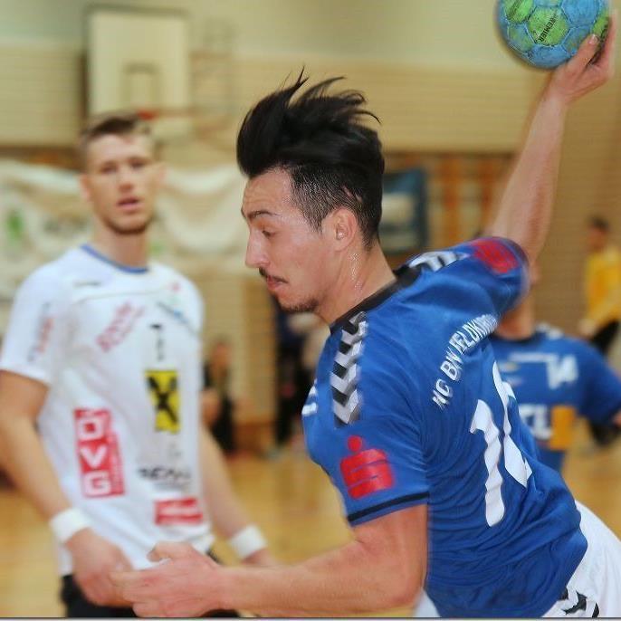 Feldkirchs Handballer holen einen Punkt.