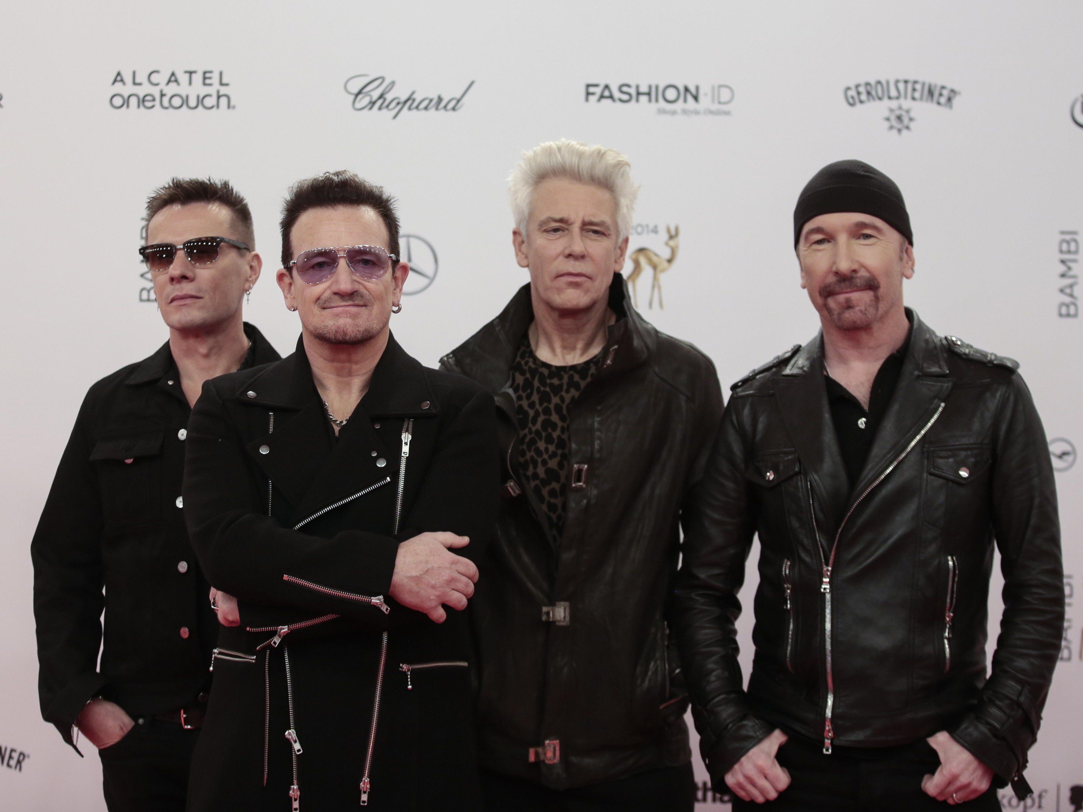 U2 geht 2015 auf große Amerika- und Europa-Tournee.