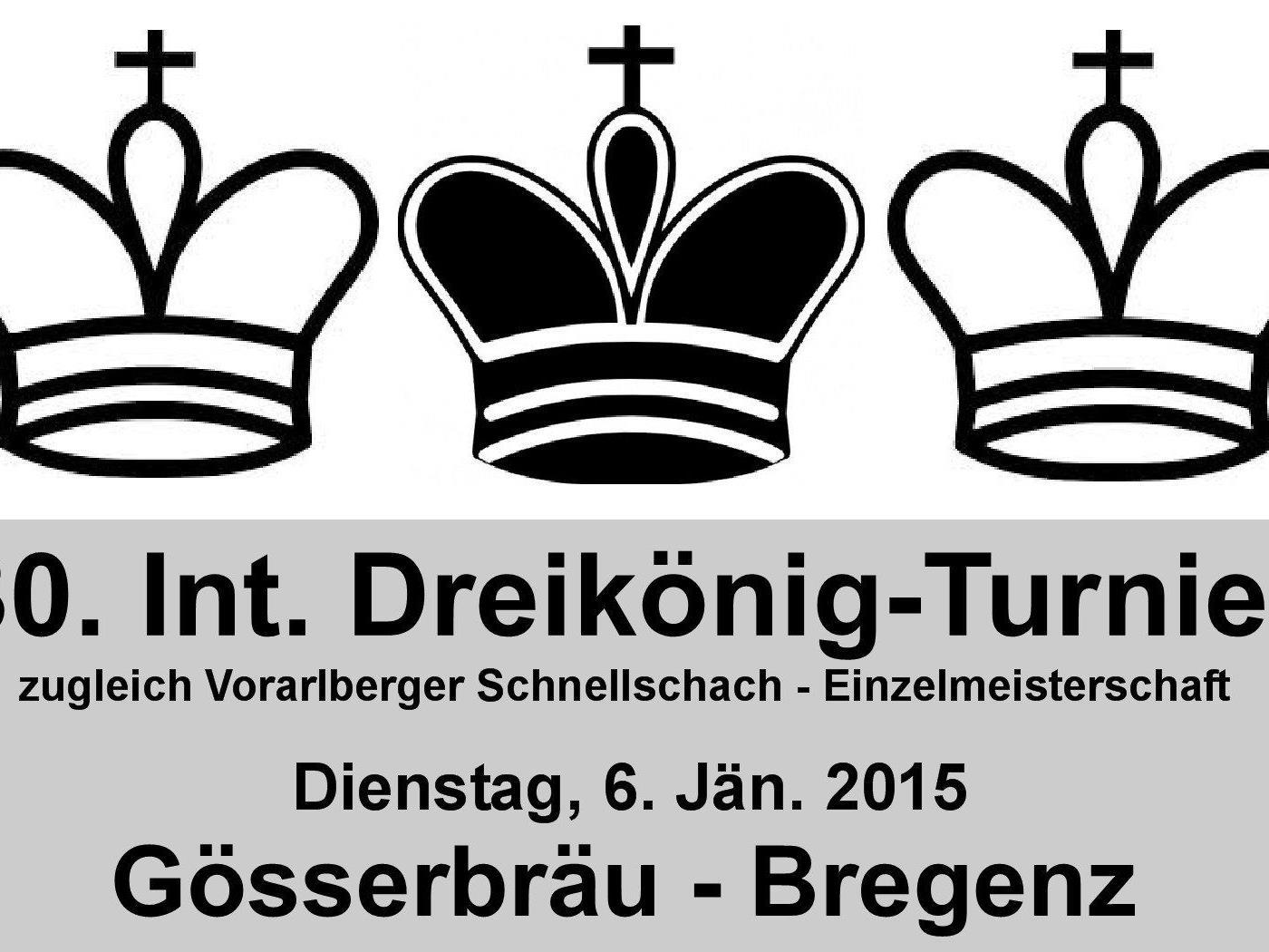 30. Int. Dreikönig-Schnellschach-Turnier