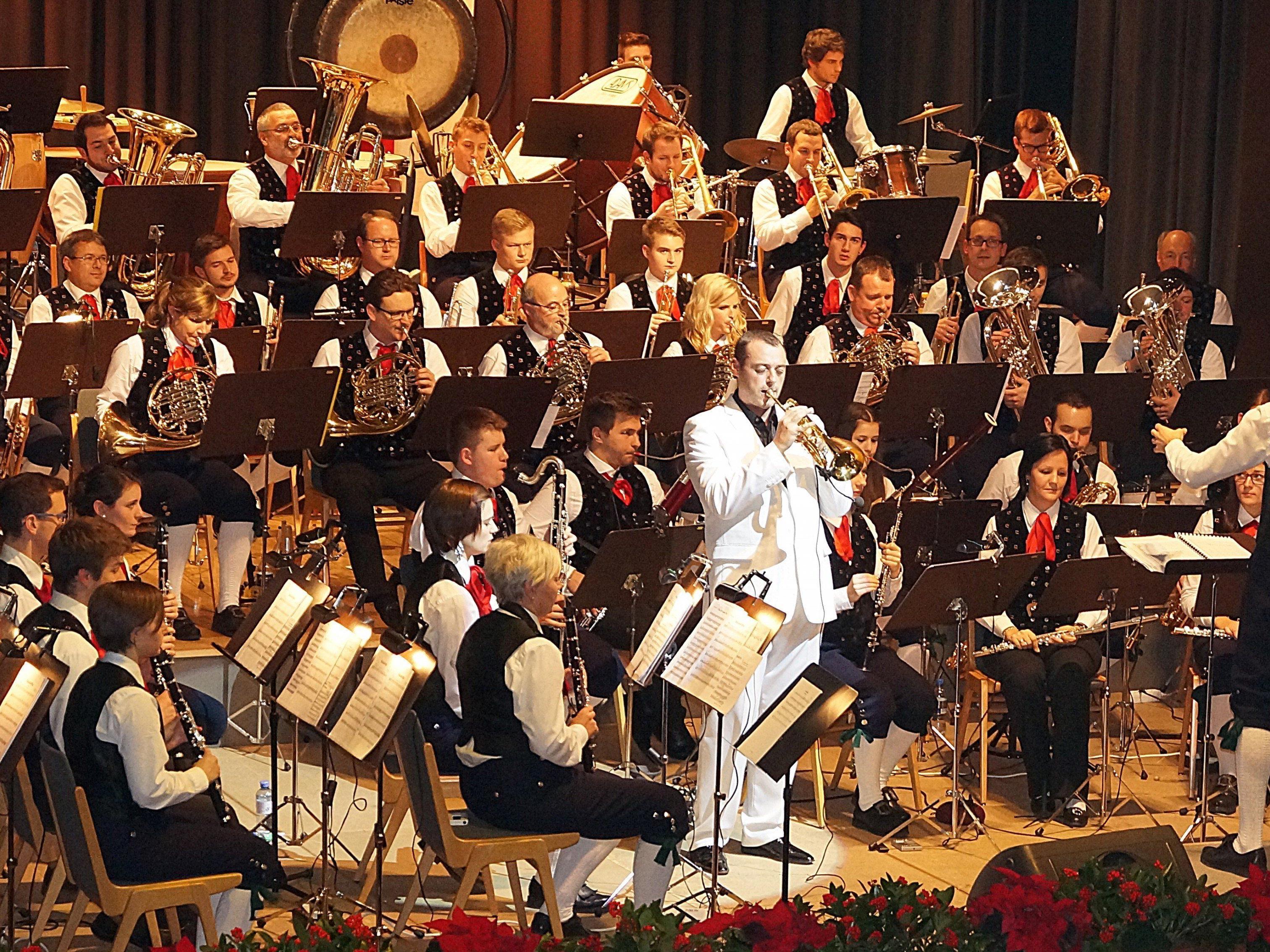 Beeindruckendes Cäciliakonzert der Stadtmusik Bludenz