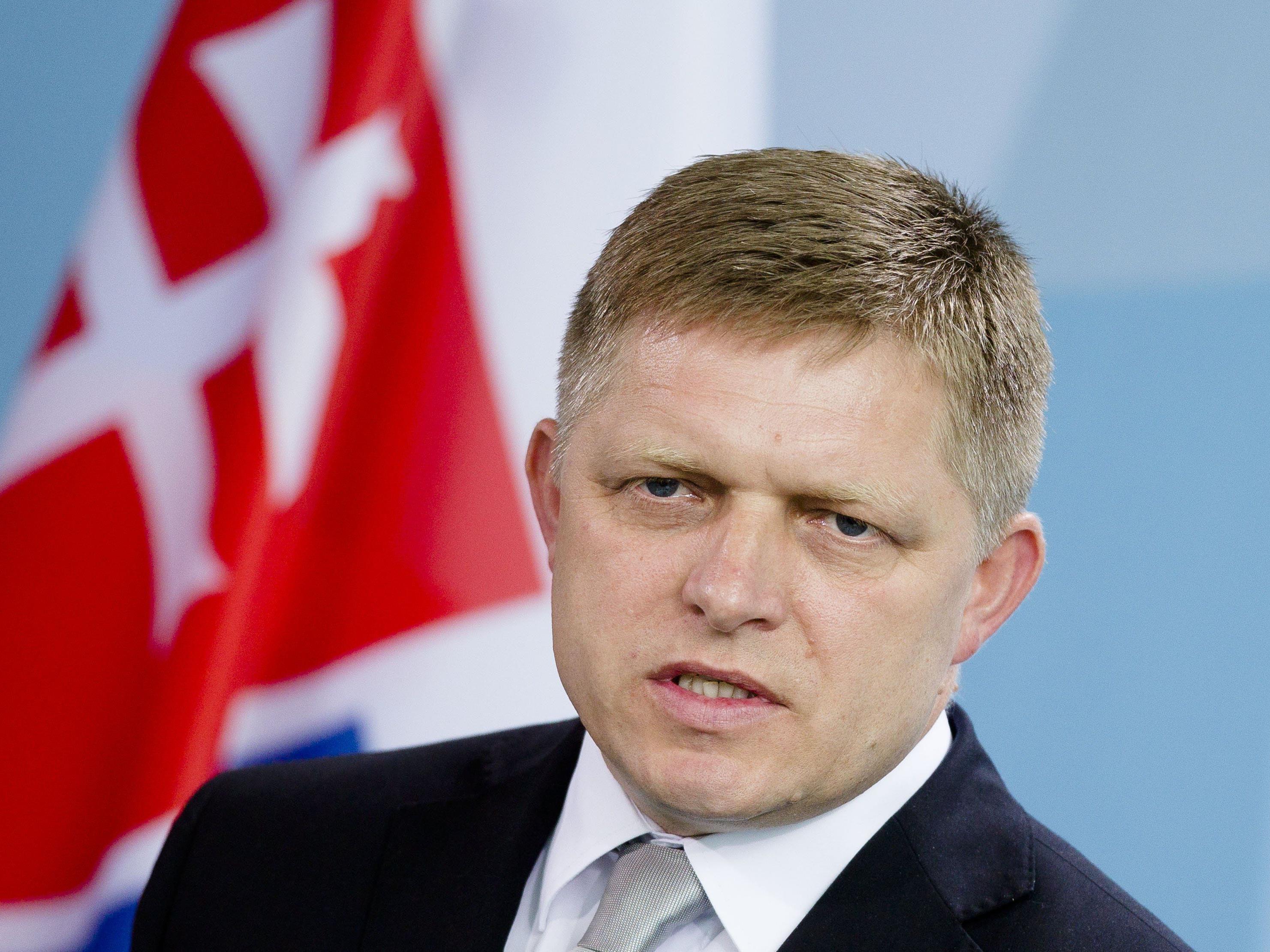 """Slowakischer Premier beruft sich auf """"deutsche Quellen""""."""